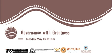 Governance with Greatness tickets