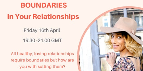 Boundaries - In Your Relationships tickets