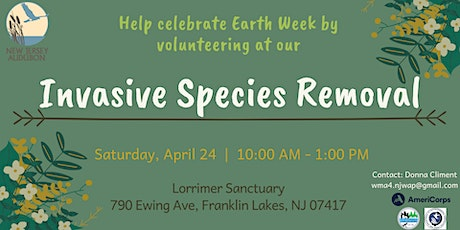 Invasive Species Removal at Lorrimer Sanctuary tickets