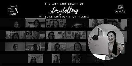 Art and Craft of Storytelling - 6 Week Virtual  Course (13-15 years old) tickets