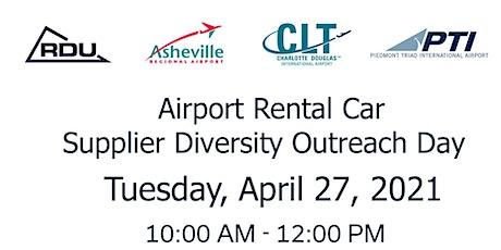 Airport Rental Car Supplier Diversity Outreach tickets