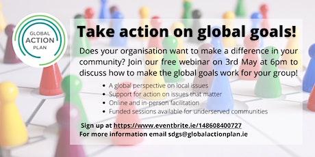 Global Goals - Community Group Webinar tickets