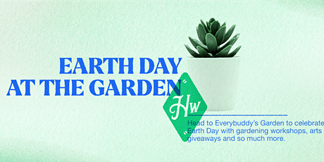 Earth Day at The Garden tickets