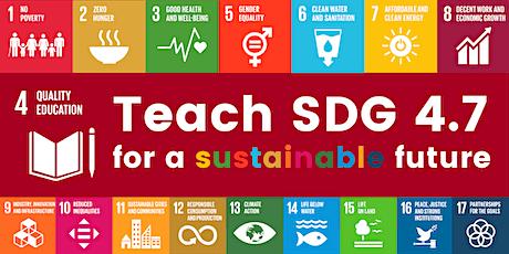 SDG 4.7 Case Study-based Lesson Planning Workshop tickets