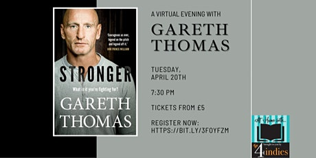 An Evening in with Gareth Thomas tickets