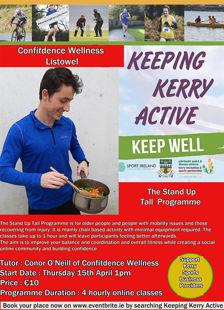 Copy of Keeping Kerry Active -  Stand Up Tall image