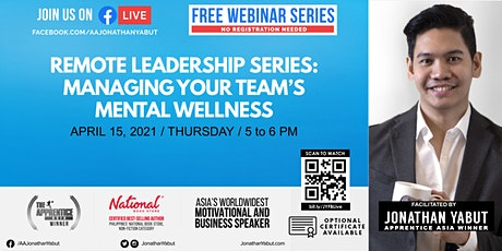 Remote Leadership Series: Managing Your Team's Mental Wellness tickets