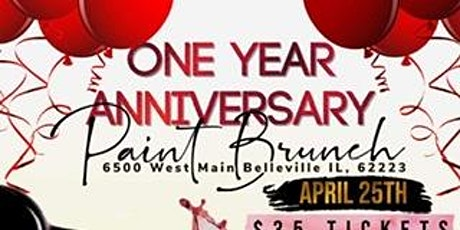One Year Anniversary Paint Brunch tickets