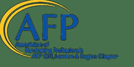 AFP & CAGP Webinar: 7 Building Blocks of a Donor-Centred Legacy Program tickets