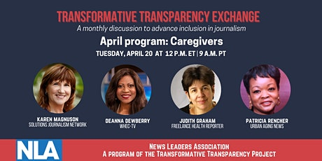 Transformative Transparency Exchange: Support and space for caregivers tickets
