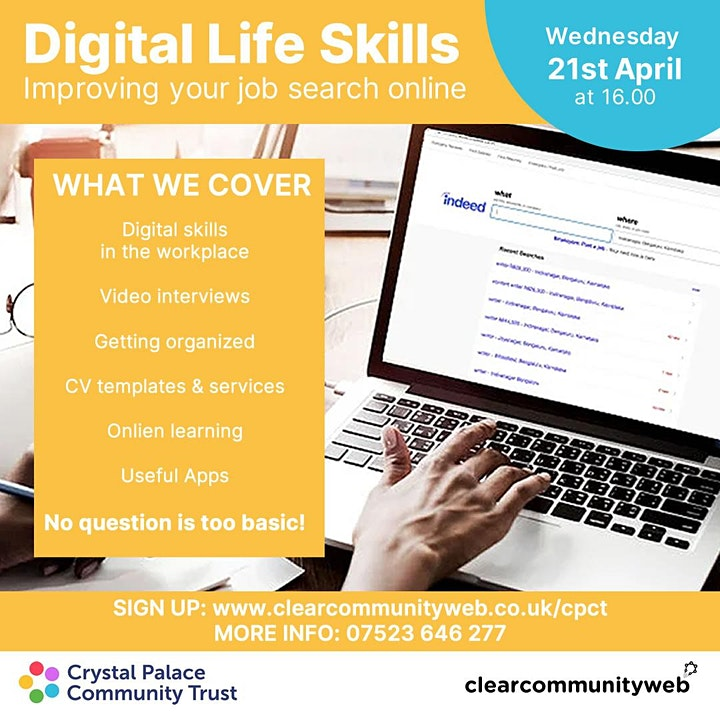 Digital Life Skills: Improving your job search online image