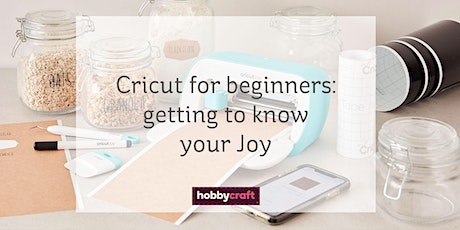Cricut for beginners: getting to know your Cricut Joy with Chrissie tickets