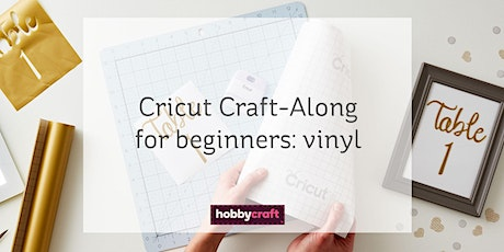 Cricut Craft-Along: beginners guide to vinyl with Joey on Zoom tickets