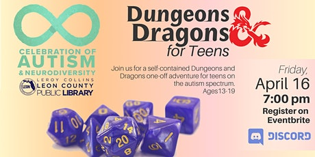 Dungeons & Dragons with Teens - A Celebration of Autism and Neurodiversity tickets
