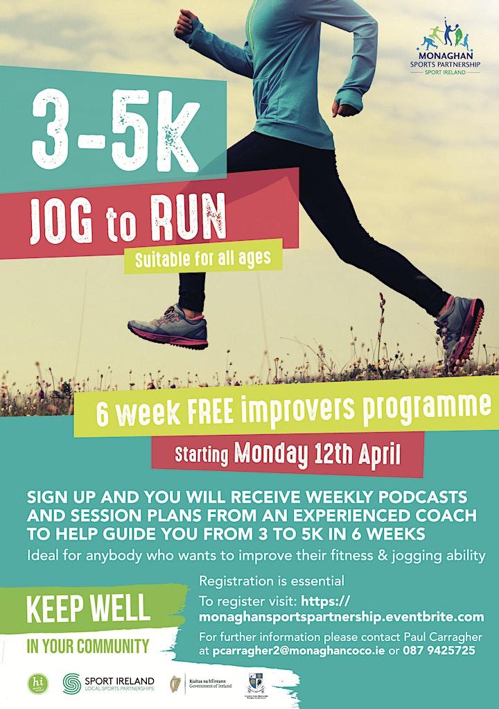 3 to 5K - Jog to Run image