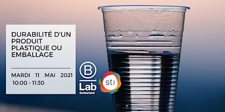 Durabilité d'un produit plastique ou emballage - STI Thematic Event (FR) billets