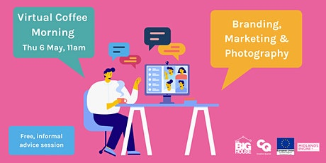 Virtual Coffee Morning: Branding, Marketing & Photography biglietti