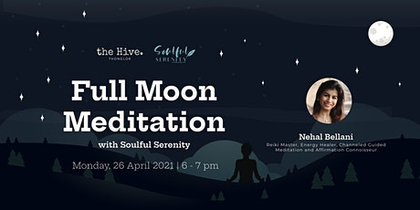 Full Moon Meditation with Soulful Serenity Tickets