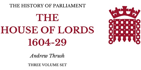 Lords 1604-1629: Online Launch tickets