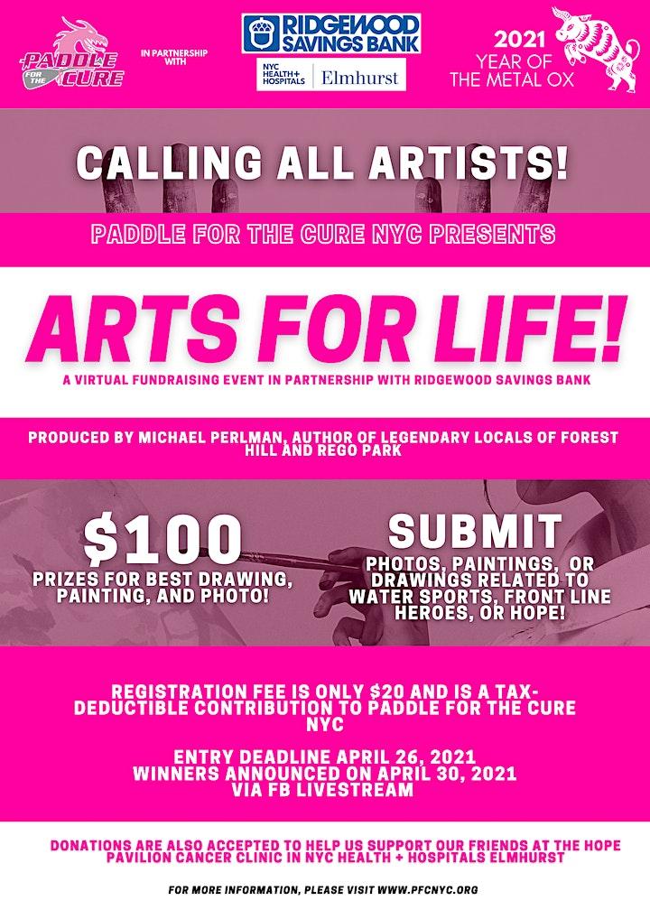 PFC NYC Arts For Life with Ridgewood Bank image