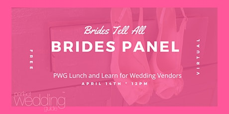 April Virtual Wedding Pro Lunch and Learn Networking Event tickets