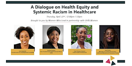 A Dialogue on Health Equity and Systemic Racism in Healthcare tickets