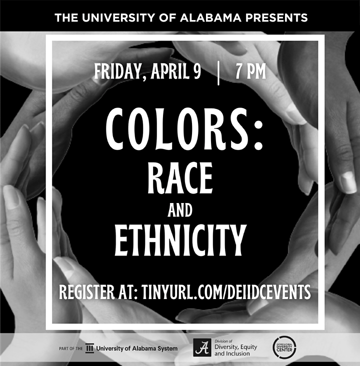 Colors, Race & Ethnicity Virtual Screening -UA Students, Faculty/Staff Only image