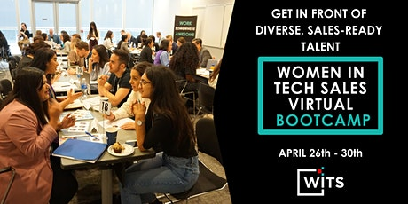Women in Tech Sales Bootcamp April 2021 - HIRING PARTNER PACKAGES tickets