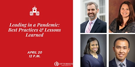 Leading through a Pandemic: Best Practices and Lessons Learned tickets