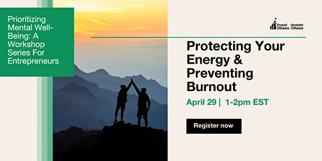 Protecting your Energy & Preventing Burnout tickets