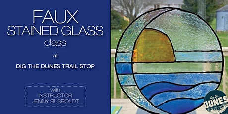 Faux Stained Glass Class at Trail Stop tickets