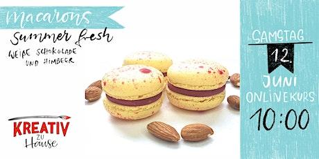 Macarons Summer Fresh - Live Onlinekurs Kreativ zu Hause Tickets