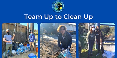 City of San Mateo: Team up to Clean Up tickets