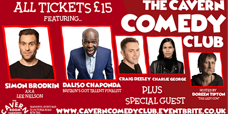 The Cavern Comedy Club - LAUNCH PARTY tickets