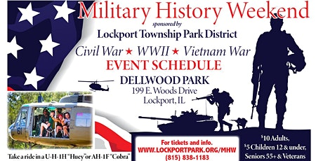 2021 Lockport Military History Weekend (CW, WW2,  and VietNam) tickets