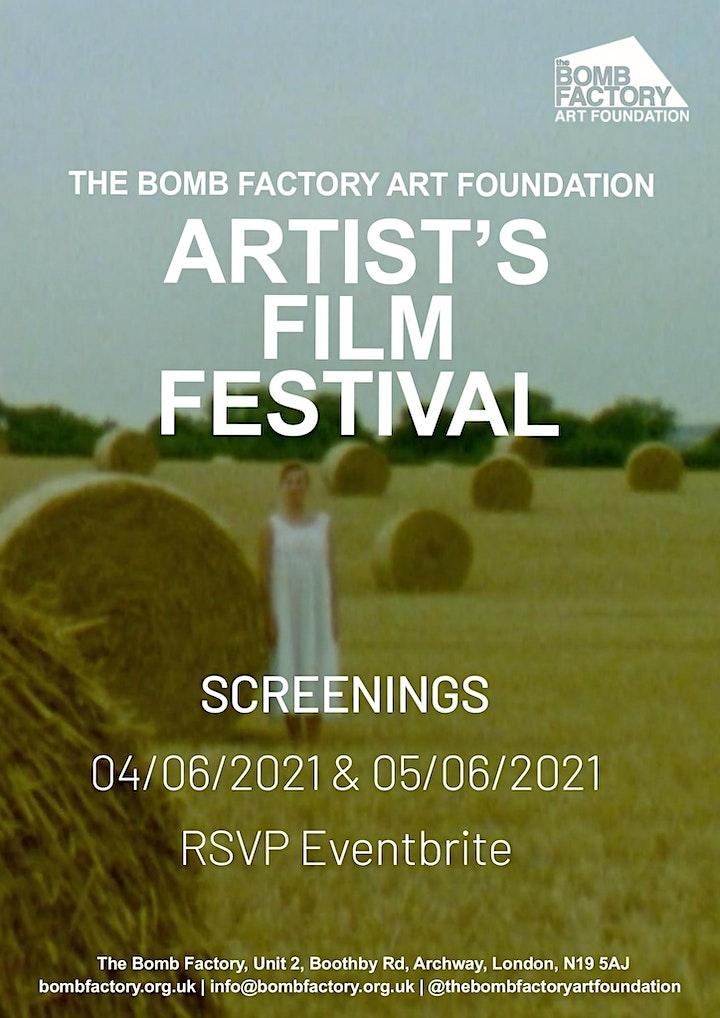 The Bomb Factory Art Foundation Artist's Film Festival image