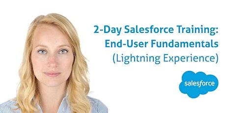 2-day Salesforce End-User Fundamentals (in Lightning): November 9-10, 2021 tickets