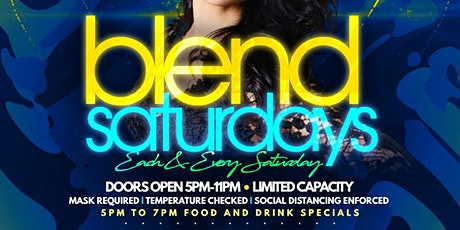 Blend Saturdays tickets