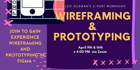 Wire-framing & Prototyping Workshop tickets