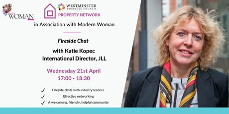 Women in Property - Fireside Chat with Katie Kopec tickets