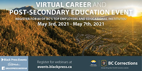Fraser Valley Virtual Career & Post-Secondary Education Event tickets