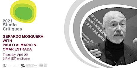 Online Studio Critiques 2021: Gerardo Mosquera tickets