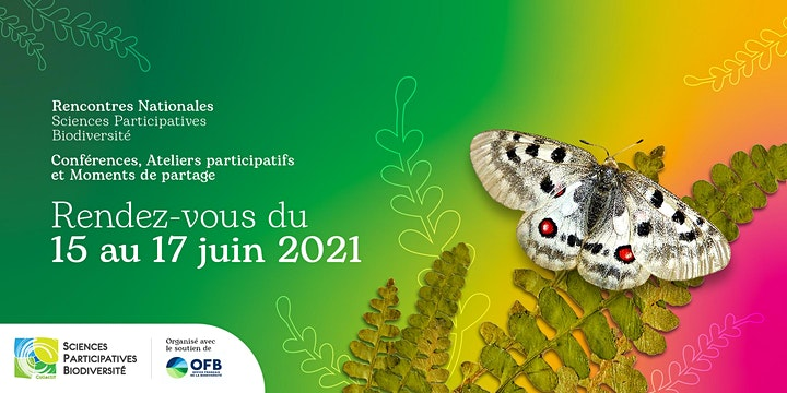 Image pour Rencontres Nationales Sciences Participatives Biodiversité 2021