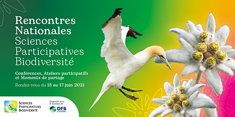 Rencontres Nationales Sciences Participatives Biodiversité 2021 billets