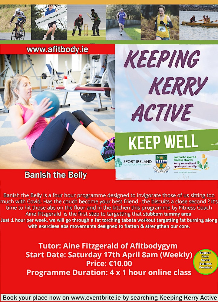 Copy of Keeping Kerry Active - Banish the Belly image