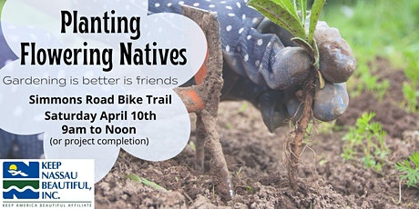 Planting Flowering Natives on Simmons Road tickets