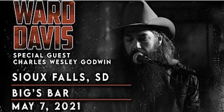 WARD DAVIS at Bigs Bar Sioux Falls tickets