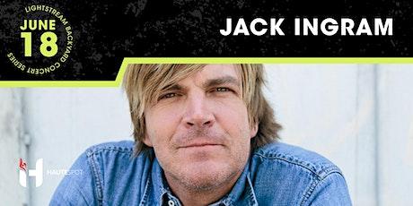 Jack Ingram - Lightstream Backyard Concert Series tickets