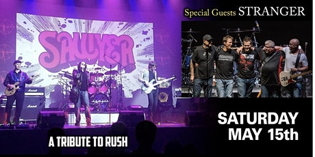 Sawyer: A Tribute to Rush with Stranger tickets