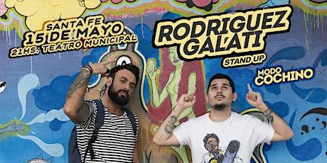 Rodriguez Galati - MODO COCHINO - Santa Fé (15 de Mayo, 21hs) entradas
